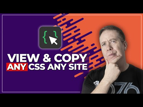 Chrome CSS Viewer CSS Scan 2.0 - All Your CSS Secrets Revealed