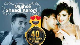 Download Video Mujhse Shaadi Karogi (2004) - Salman Khan - Priyanka Chopra - Akshay Kumar - Superhit Comedy Film MP3 3GP MP4