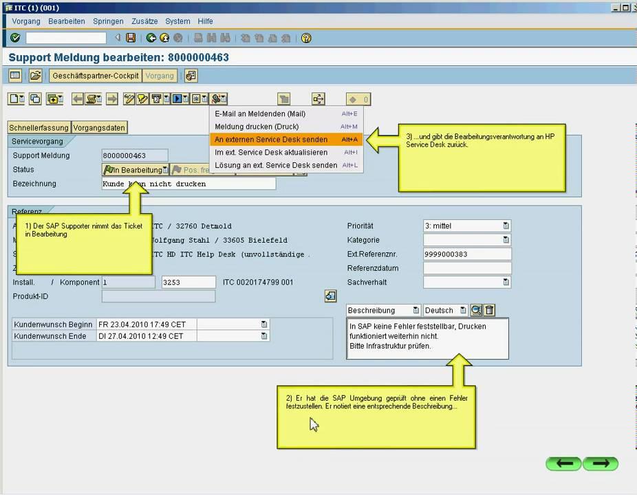 ITC SALUT Kopplung SAP Solution Manager mit zentralem