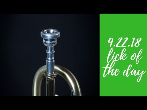 Jazz Trumpet   Lick of the Day 9.22