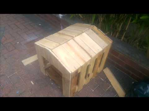 How To Build A Small Dog Kennel Out Of Pallets Ste