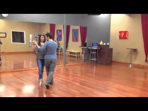 Argentine Tango @ DF Studio, Valse part 4.