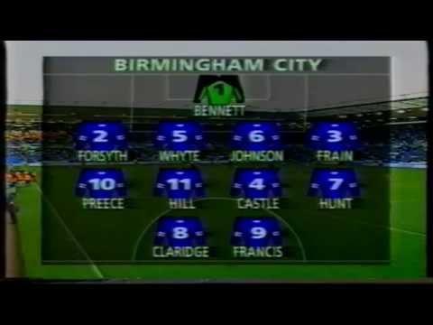 26-11-1995 Birmingham City 2 Leicester City 2