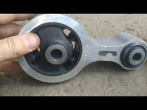 трусит мотор, замена опоры двигателя, вибрация по кузову при движении mazda 6