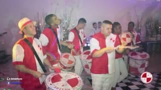 Escola de samba festa de debutante no buffet Mansão Vitoria Evento Perfeito Apito de Mestre