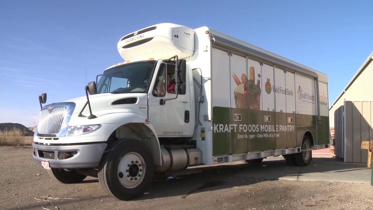 spedition mobel hoffner, weld food bank's mobile food pantry - youtube, Design ideen