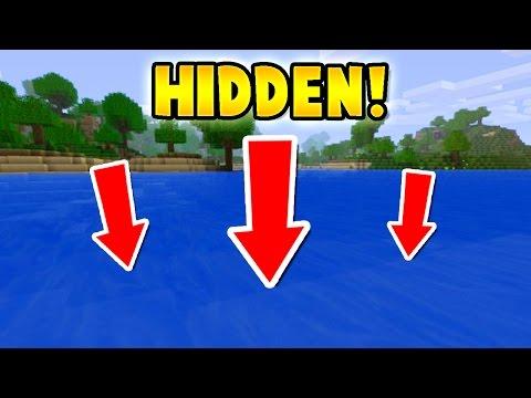 EASY Hidden UNDERWATER House in Minecraft!
