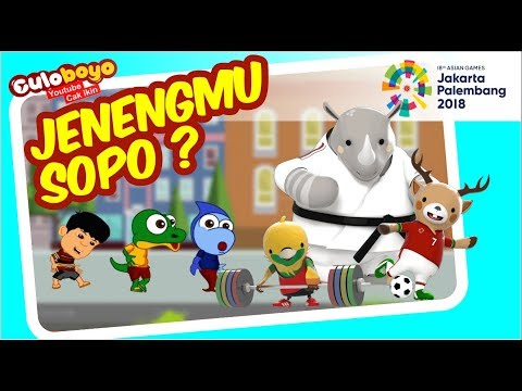Kenalan Sama Trio Maskot | Opening Ceremony Asian Games 2018 | Kartun Lucu Culoboyo