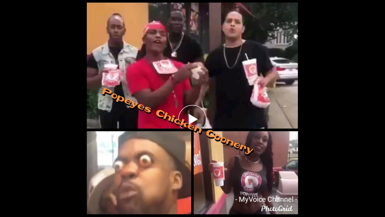 The Popeyes Chicken Coonery