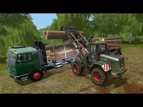 Farming Simulator 17 - Forestry and Farming on The Valley The Old Farm 097 thumbnail