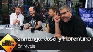 Florentino Fernández, José Mota y Santiago Segura desvelan sus exigencias - El Hormiguero 3.0