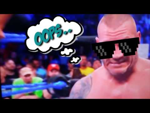 RANDY ORTON'S FATALITY OUT OF NOWHERE!