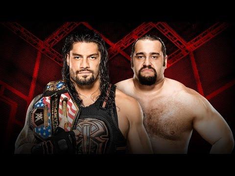WWE Hell in a Cell 2016 - Roman Reigns vs Rusev