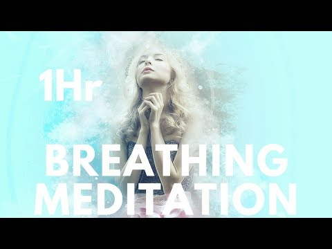1 hr Guided Breathing Meditation!  (Restores Your Mind , Removes Anxiety) * 432Hz