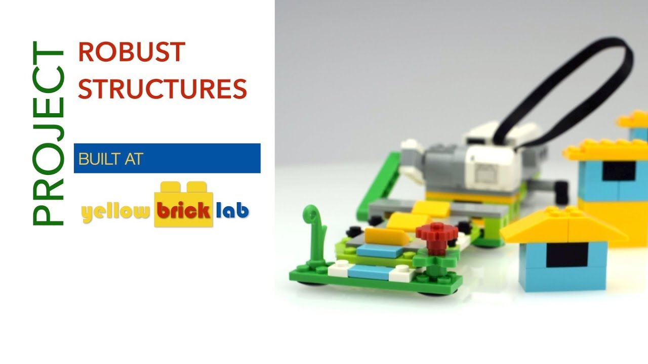 Robust Structures with LEGO® WeDo 2.0 - YouTube