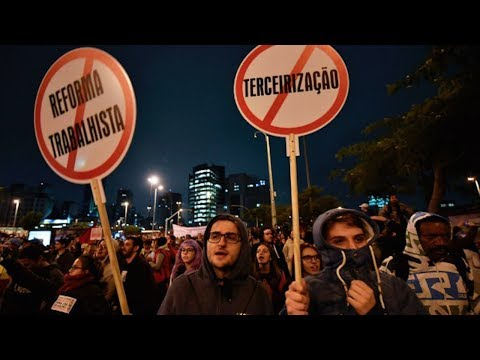 Brazil Gets Ready to Roll Back Labor Rights