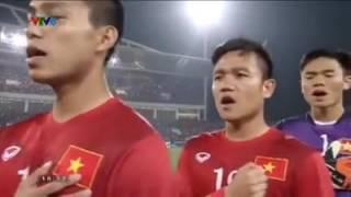 Chào cờ  Việt Nam vs Indo