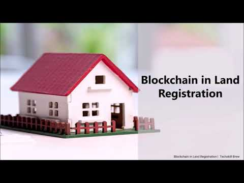Blockchain applications in the land registration