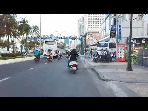 Cuộc Sống Nha Trang-ĐƯỜNG TRẦN PHÚ NHỮNG NGÀY SAU TẾT- Nha Trang Life- Travel to vietnam