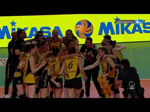 VakifBank Istanbul are the 2018 CEV Volleyball Champions League Winners