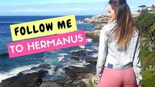TRAVEL VLOG: EXPLORING HERMANUS *BEST TRIP EVER* #FOLLOWME