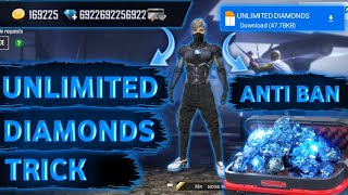 HOW TO GET UNLIṀITED DIAMONDS IN FREE FIRE 2021 || UNLIMITED DIAMONDS BEST TRICK IN FREE FIRE