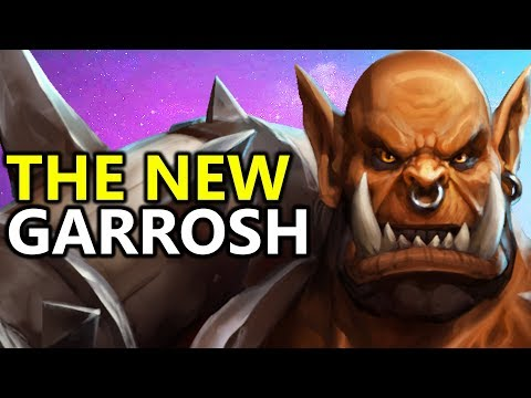 ♥ The New Garrosh - Heroes of the Storm (HotS Gameplay)