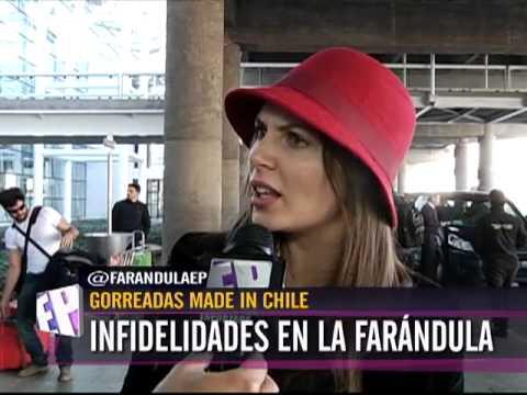 Gorreados de la farandula chilena las infidelidades en la for Chimentos de la farandula