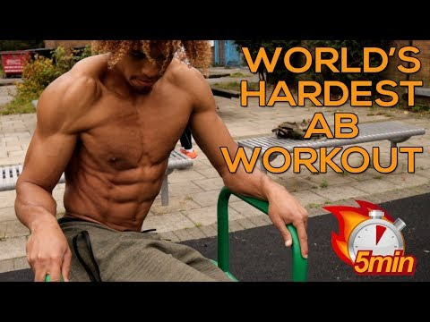 WORLD'S HARDEST AB WORKOUT – 5 MIN ABNORMAL CHALLENGE