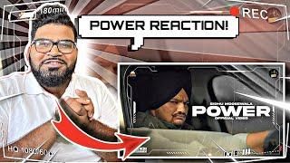 Reaction on Power (Full Video) Sidhu Moose Wala
