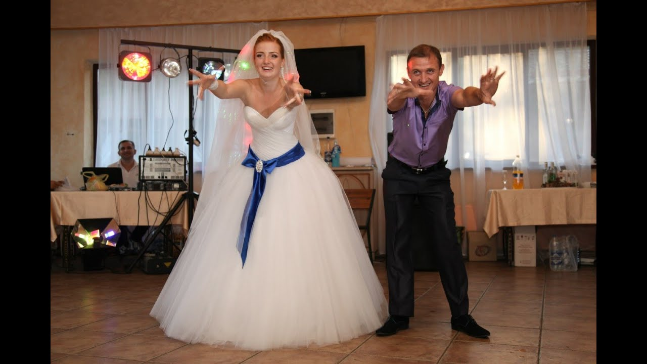 Свадебный танец невесты и отца