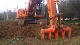 Scasso con escavatore 08/01/2016  Rasettascavi.it