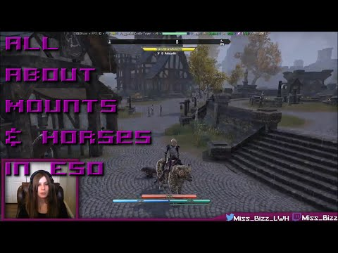 All About Mounts & Horses in ESO