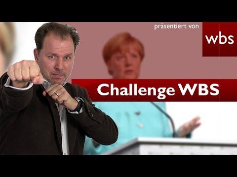 Angela Merkel ohrfeigen - Welche Strafe erwartet mich?   Challenge WBS - RA Solmecke