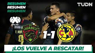 Resumen y goles | FC Juárez  1 – 1 América | Liga Mx – Ap 2019 – J11 | TUDN