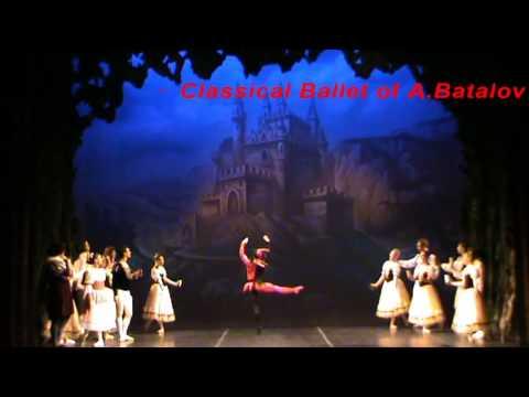 Swan Lake Buffoon grand pirouette ActI St.Petersburg Classical Ballet of A.Batalov