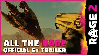 RAGE 2- Official E3 Trailer- All the RAGE