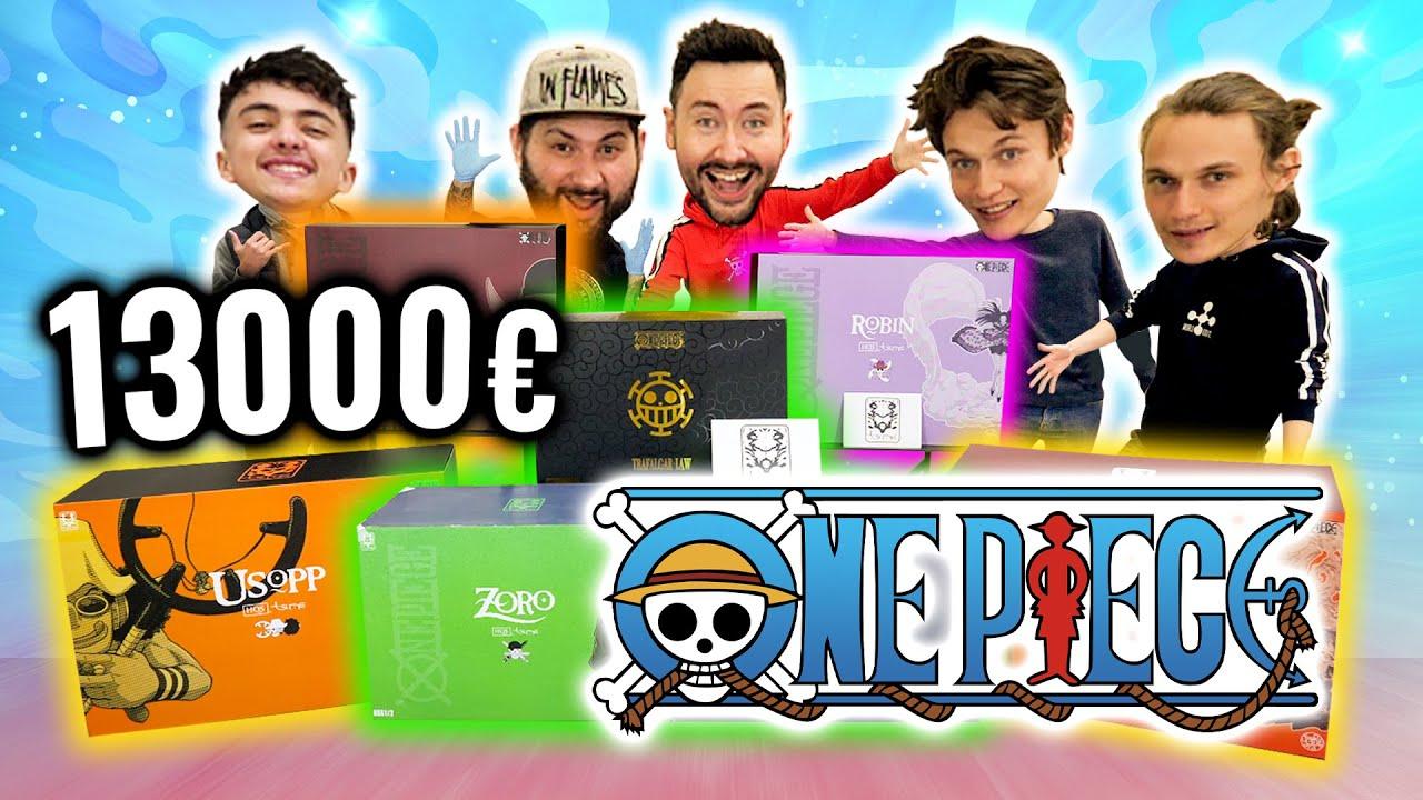 Download Le Plus Gros Unboxing One Piece du Monde ! (feat Mont Corvo, Inoxtag et Tsume)