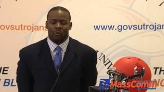 VSU Head Football Coach Byron Thweatt Press Conference