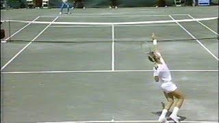 Agassi vs Lendl Forest Hills 1989