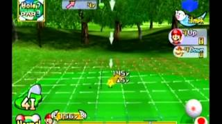 Mario Golf: Toadstool Tour - Character Match Vs. Bowser Ace Difficulty