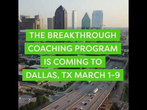 Dallas Breakthrough Retreat - March 1-3 & 8-9