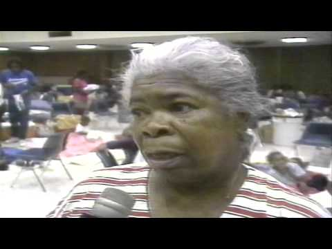 WWL-TV CH4 News 8-25-1992 Hurricane Andrew New Orleans