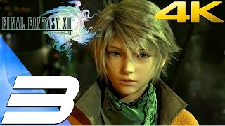Final Fantasy XIII - Walkthrough Part 3 - Anima Boss Fight [4K 60FPS]