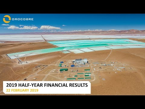 Orocobre Limited – Half-Year 2019 Financial Results WEBCAST