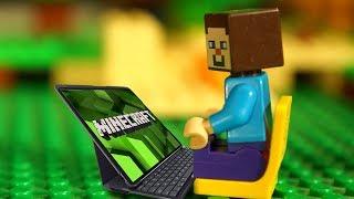 Лего Нубик Майнкрафт   Ниндзяго Мультики Всі Серії Підряд Мультфільми для Дітей ЗБІРНИК Іграшки