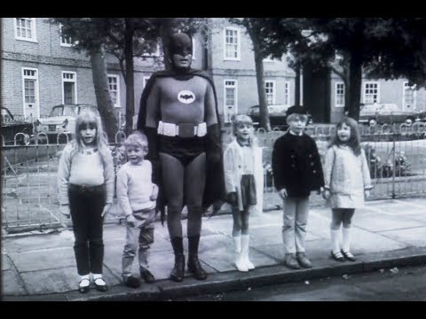 Rare longlost Batman Adam West UK Road Safety Advert  1967
