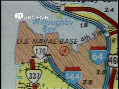 WAVY Archive: 1981 Military Counterforce Area