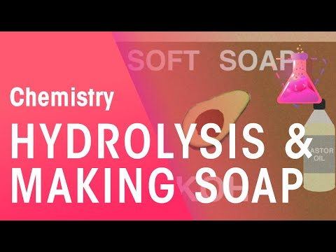 Hydrolysis and How It Is Used to Make Soaps | Chemistry for All | The Fuse School