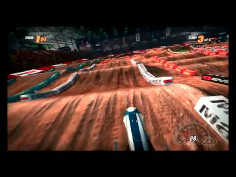MX vs ATV Supercross E3 2014 Gameplay/Interview with Ken George